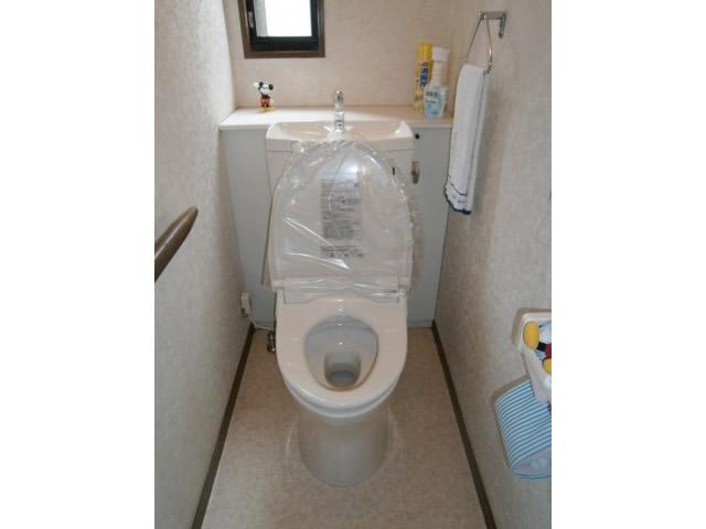 名古屋市港区 トイレ取替工事