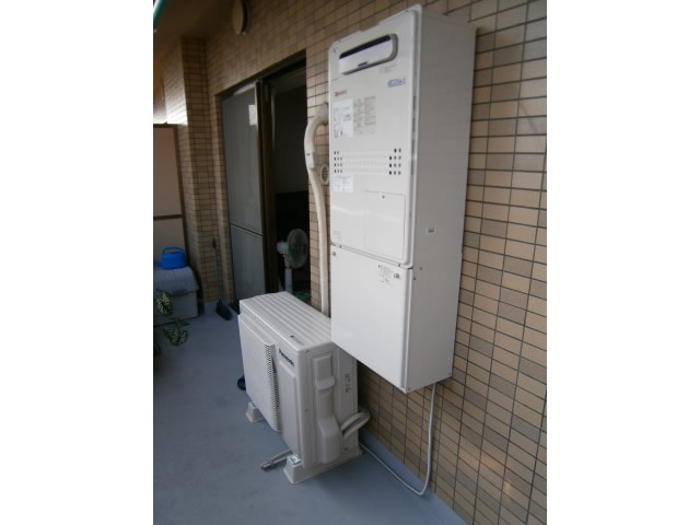 一宮市 給湯器(熱源機)取替え工事