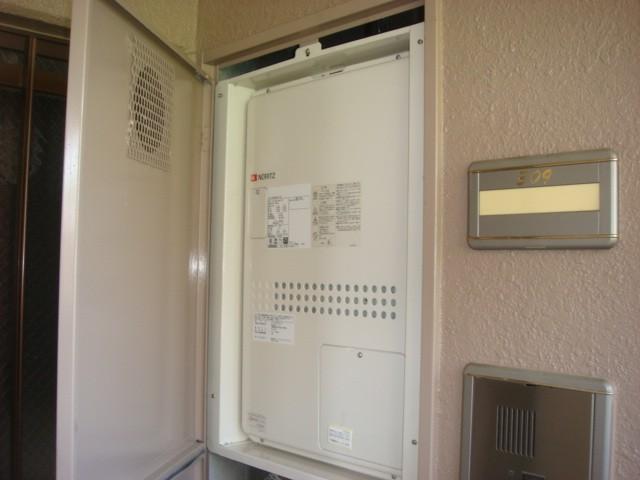 名古屋市千種区 給湯熱源機取替工事