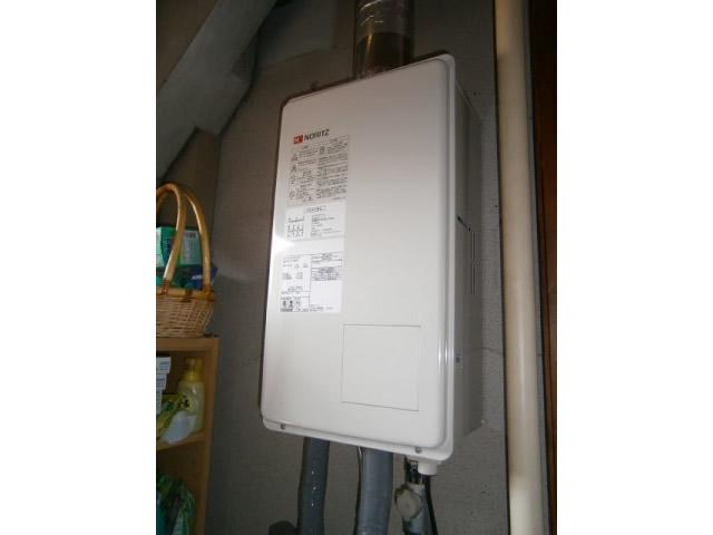 名古屋市守山区 強制給排気形 給湯器取替工事