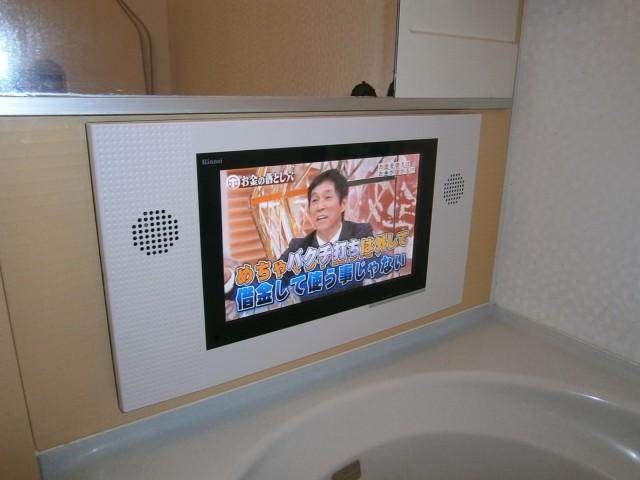 日進市 浴室テレビ取替工事