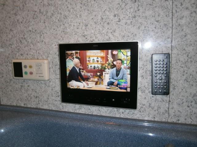 名古屋市東区 浴室テレビ ノーリツ 12V型ハイビジョン