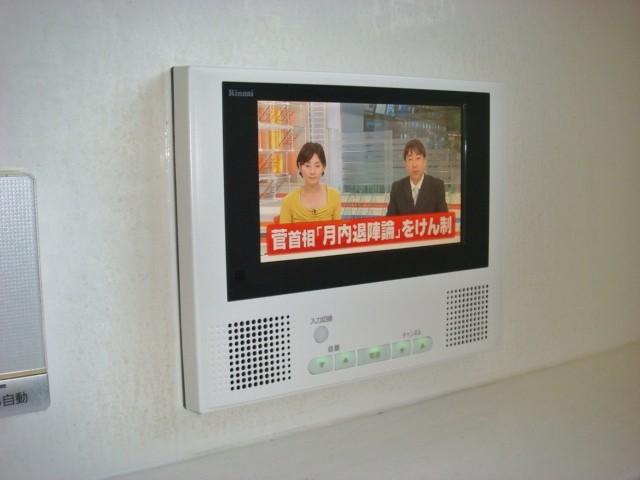 春日井市 浴室テレビ取替工事