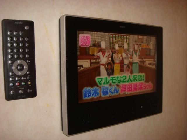岩倉市 浴室テレビ ノーリツ 12V型ハイビジョン