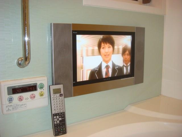 名古屋市守山区 浴室テレビ リンナイ 15.3V型ハイビジョン YUGA