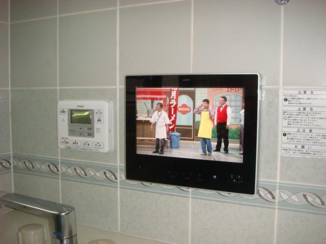 愛知県大府市 浴室テレビ ノーリツ 12V型ハイビジョン