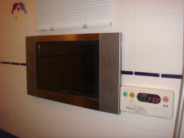 愛知県江南市 浴室テレビ リンナイ15.3型地デジ・ハイビジョン YUGA