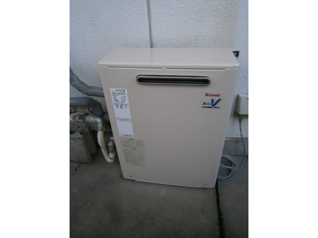 名古屋市南区 給湯器取替え工事