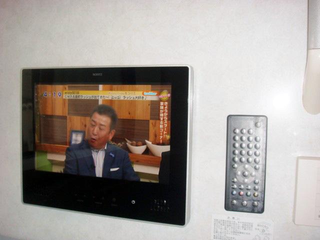 一宮市 浴室テレビ取替工事
