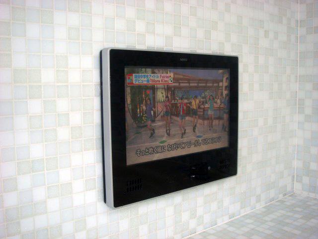 岡崎市 浴室テレビ取替工事