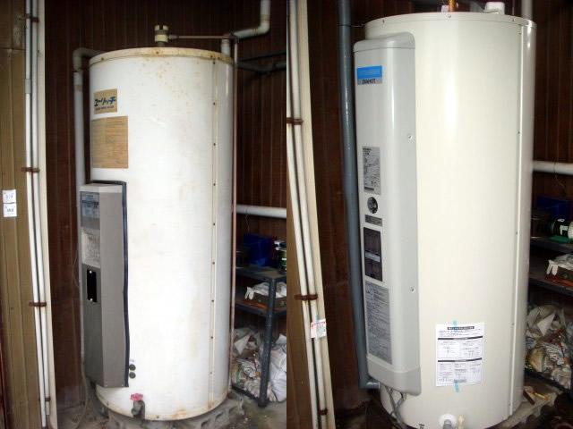 東海市 電気温水器取替え工事