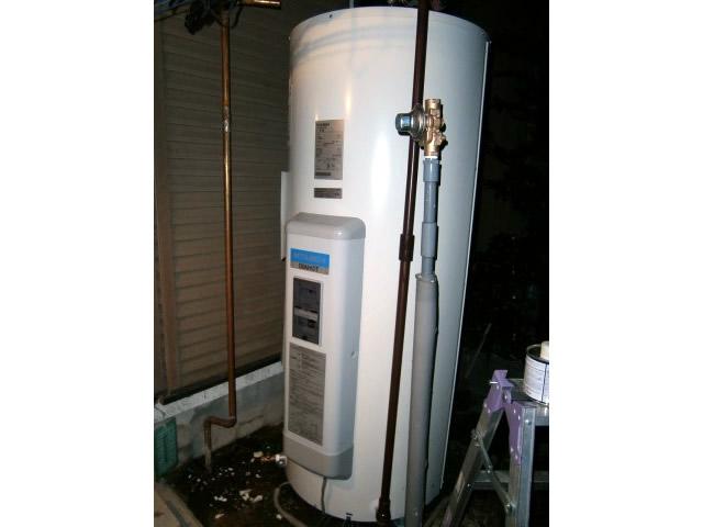 名古屋市守山区 電気温水器取替工事
