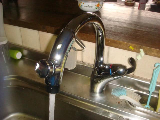 名古屋市中村区 水栓取替工事