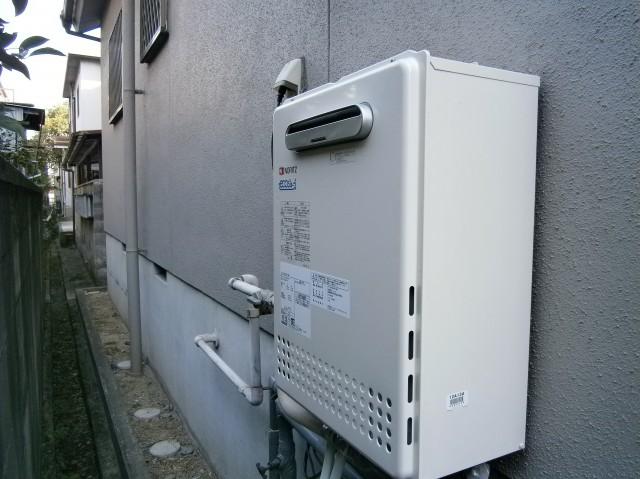 名古屋市港区 給湯器取替工事