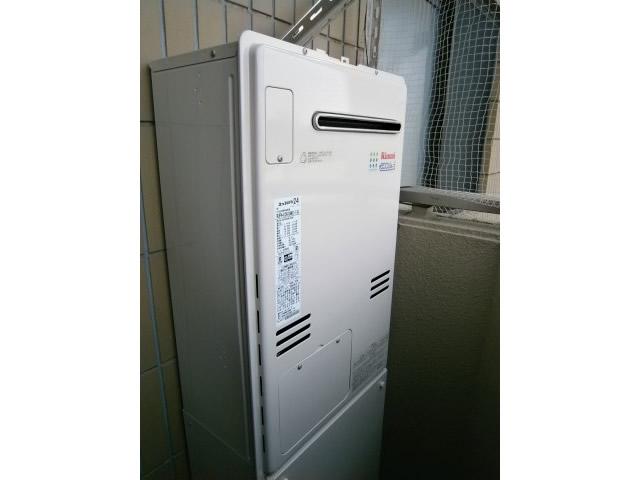 名古屋市守山区 給湯器(熱源機)取替工事