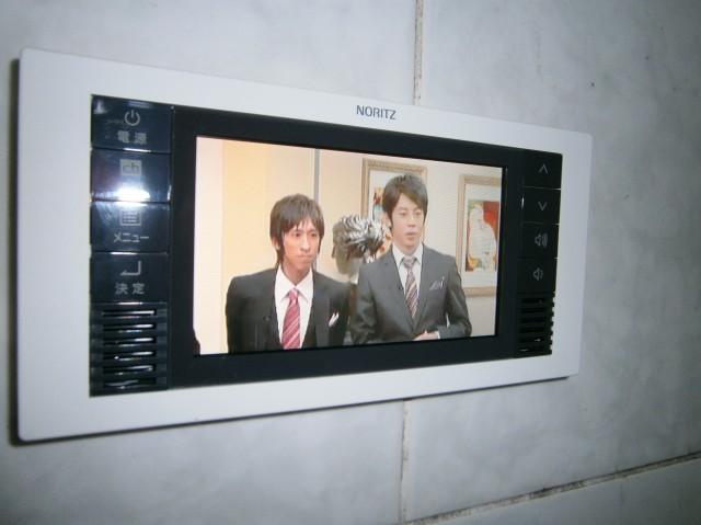 名古屋市西区 浴室テレビ取替工事
