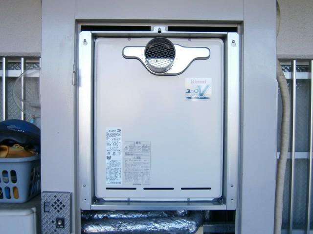 名古屋市中村区 給湯器取替工事