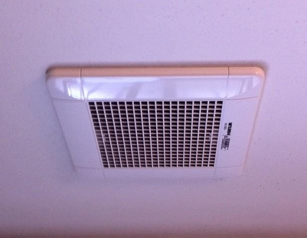 あま市 浴室換気扇取替工事