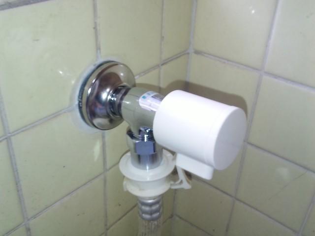 名古屋市守山区 洗濯機水栓取替工事