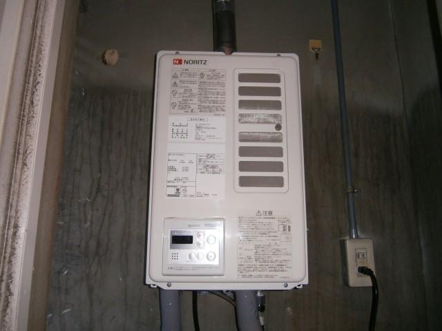 名古屋市瑞穂区 給湯器取替工事