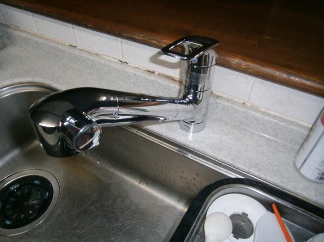 名古屋市天白区 キッチン水栓交換