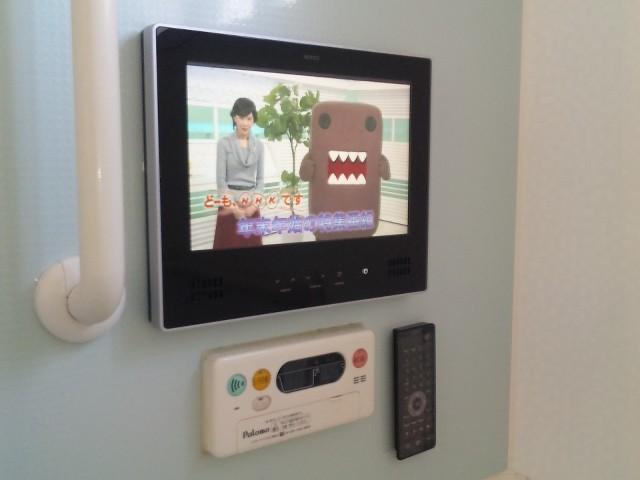 三重県四日市市 浴室テレビ取替工事