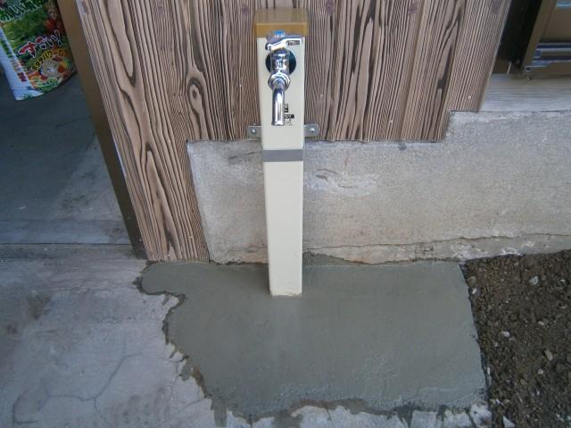 名古屋市守山区 水栓柱新設工事