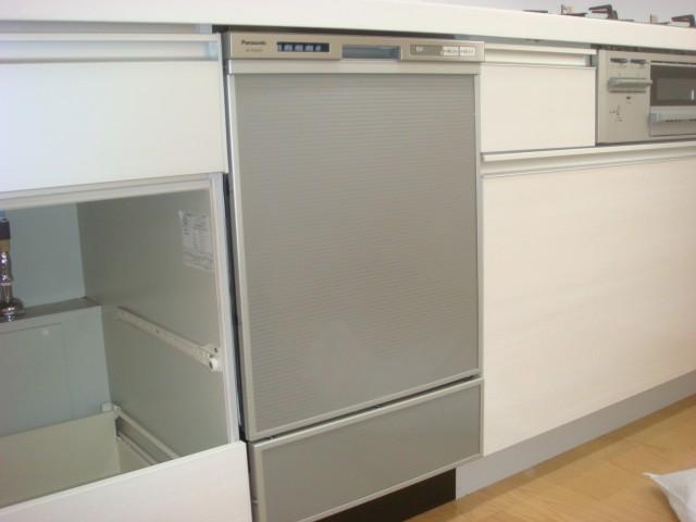 岡崎市  ビルトイン食洗機新規取付工事