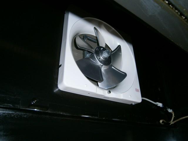 キッチン換気扇取替工事