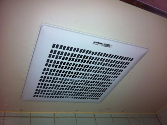 キッチン換気扇器取替え工事