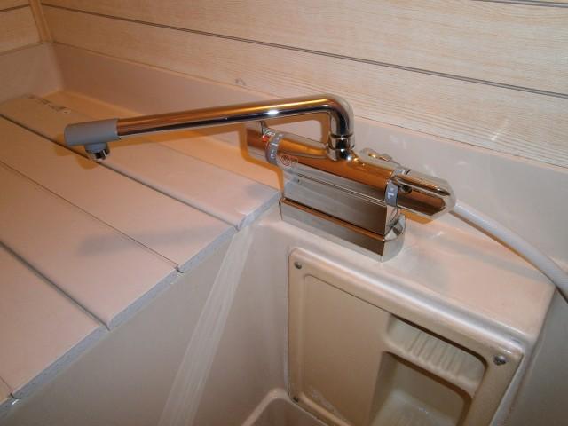 シャワー水栓取替工事