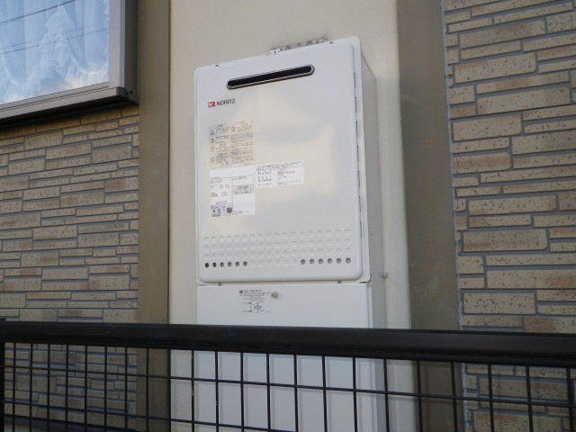 名古屋市天白区 給湯器取替工事+リモコン加工