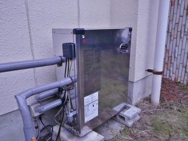 名古屋市名東区 石油給湯器取替工事