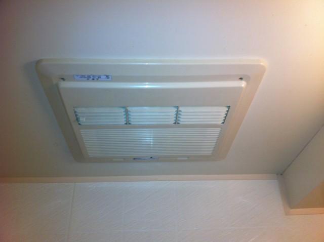 浴室換気扇取付工事