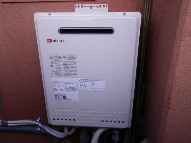 名古屋市北区 ガス給湯器取替工事+循環金具取り付け工事
