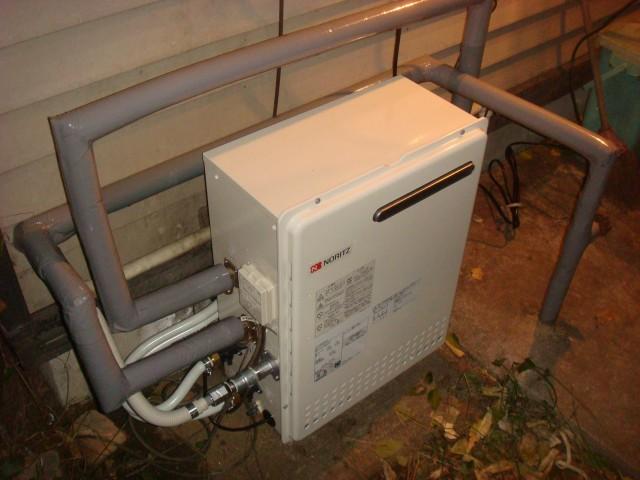名古屋市西区 給湯器取替工事