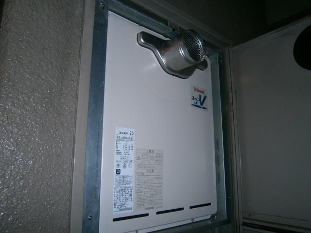 名古屋市守山区 給湯器取替工事