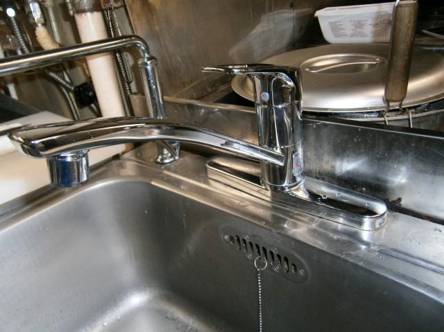 名古屋市中区 キッチン水栓取替工事