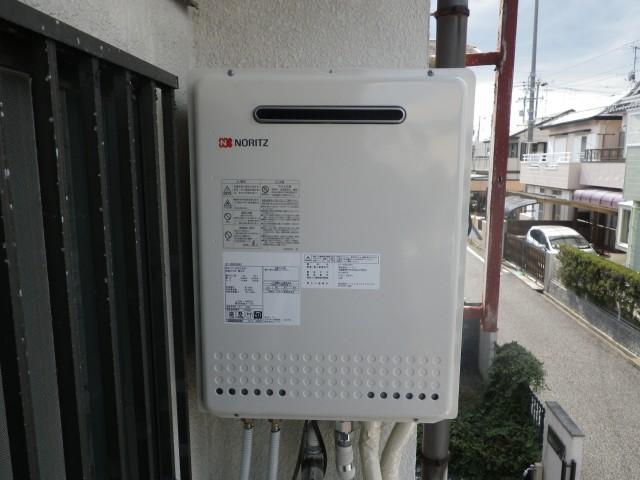 名古屋市瑞穂区 ガス給湯器取替工事