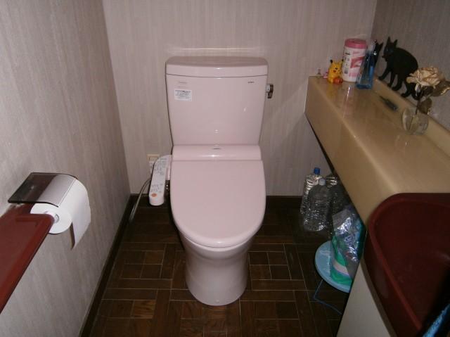 名古屋市千種区 トイレ取替工事
