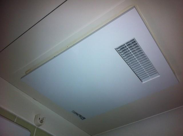 豊橋市 浴室暖房換気扇取替工事
