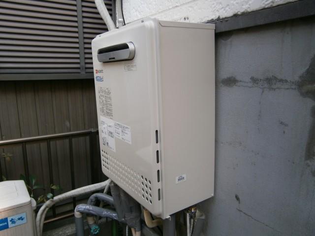 愛知県海部郡 給湯器取替工事