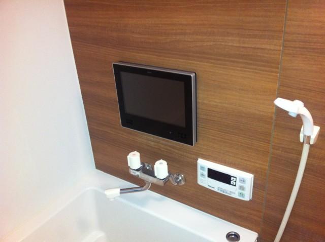 名古屋市港区 浴室TV取付工事+α