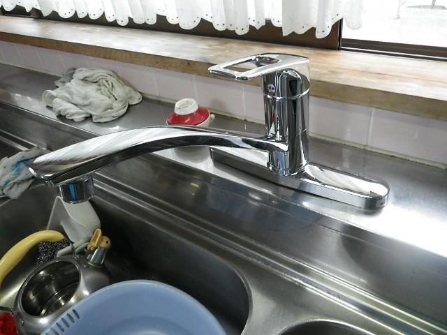 名古屋市中村区 K様邸 キッチン水栓取替工事