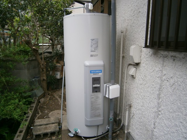 愛知県知多市 K様邸 電気温水器取替工事