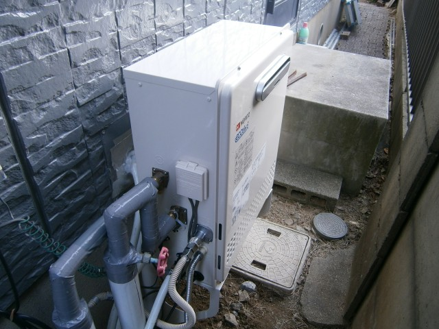 高浜市 ガス給湯器取替工事