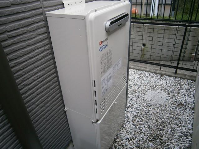 東郷町 ガス給湯器取替工事