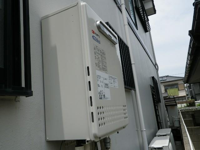 愛知県知多郡 T様邸 給湯器取替工事