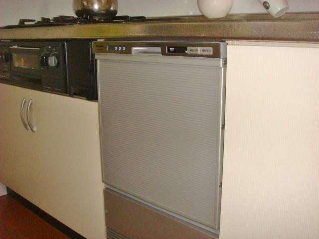 名古屋市南区 S様邸 ビルトイン食洗機新規取付工事