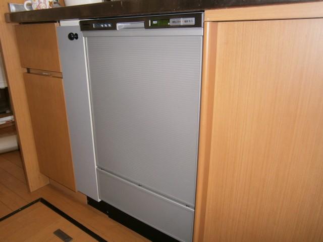 愛知県岡崎市 K様邸 ビルトイン食洗機取替工事